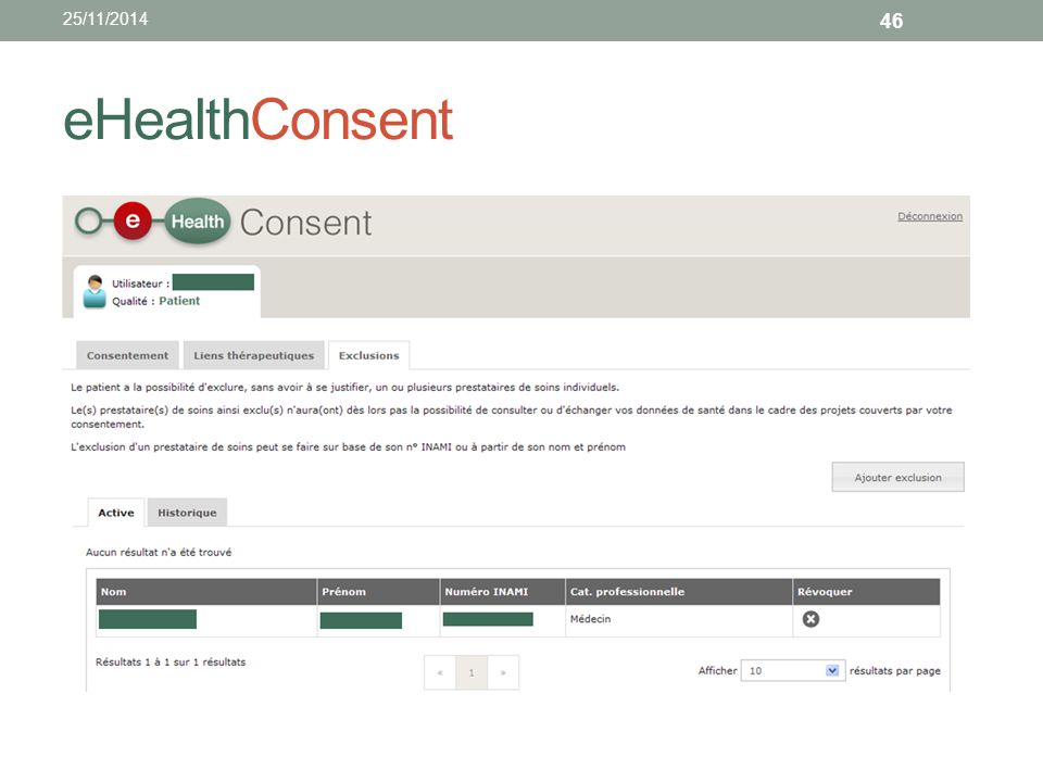25/11/2014 eHealthConsent