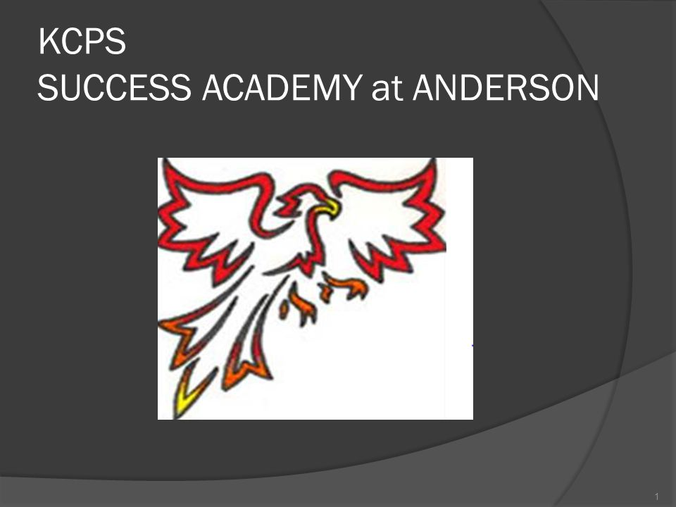 KCPS SUCCESS ACADEMY at ANDERSON