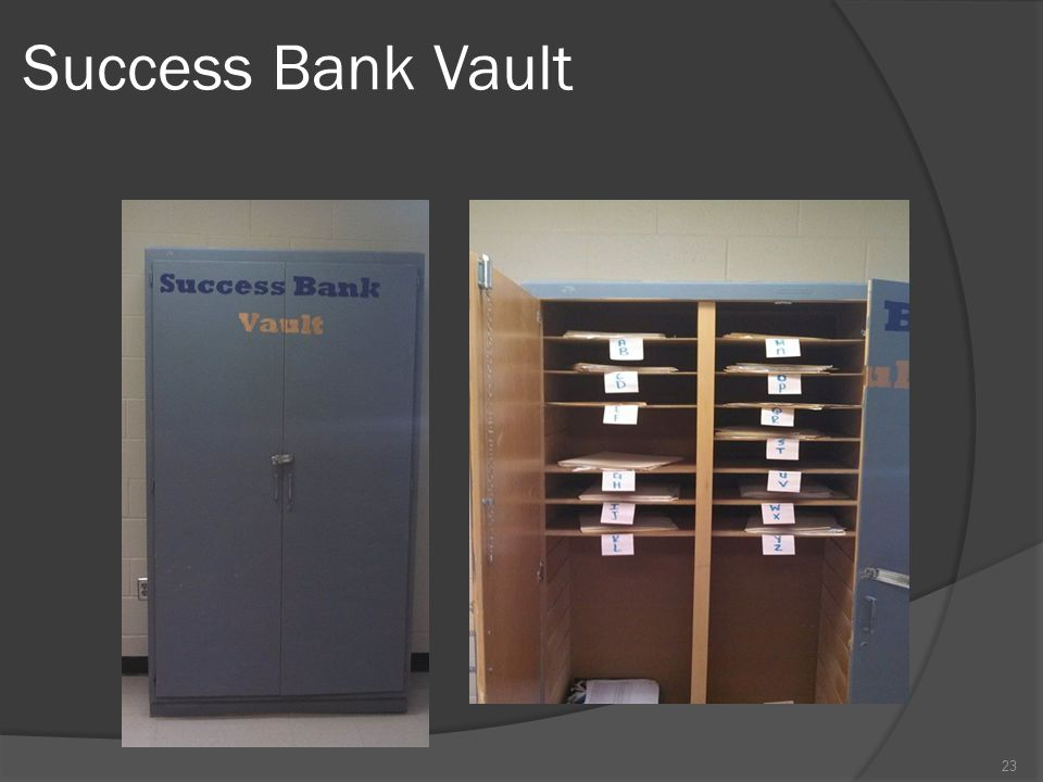 Success Bank Vault