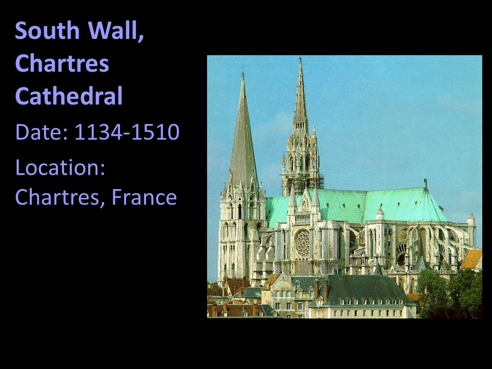 South Wall, Chartres Cathedral