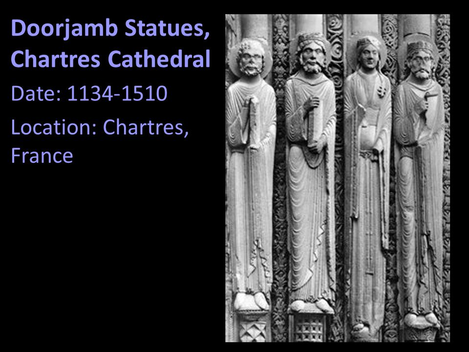 Doorjamb Statues, Chartres Cathedral