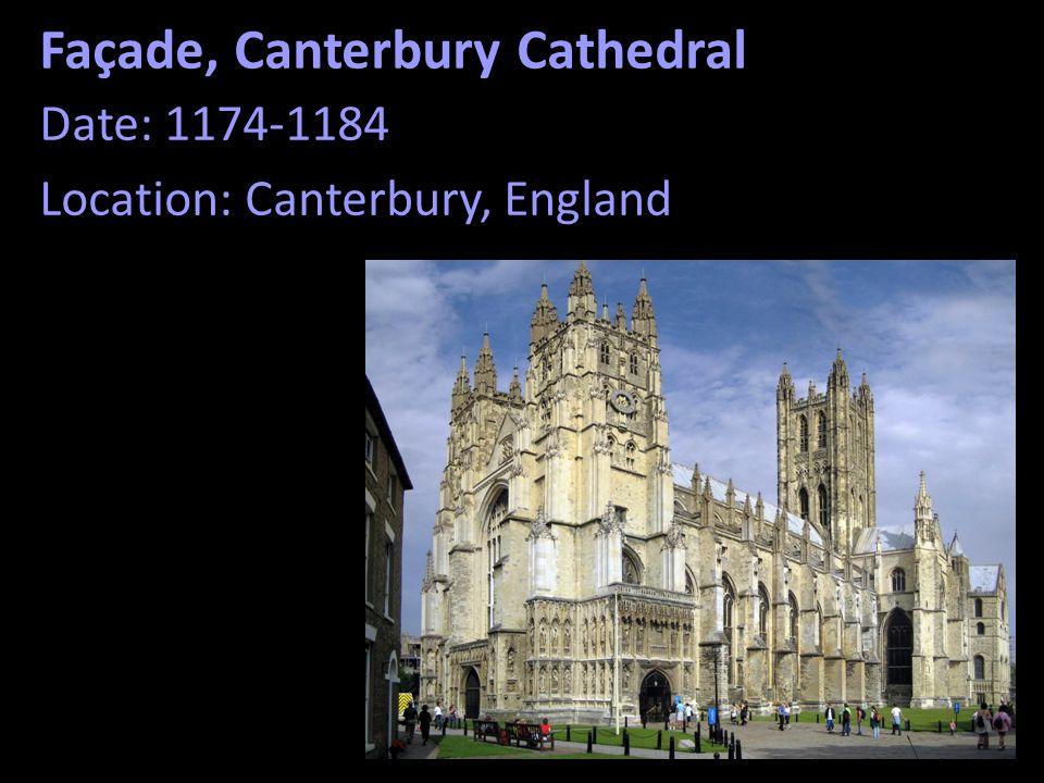 Façade, Canterbury Cathedral