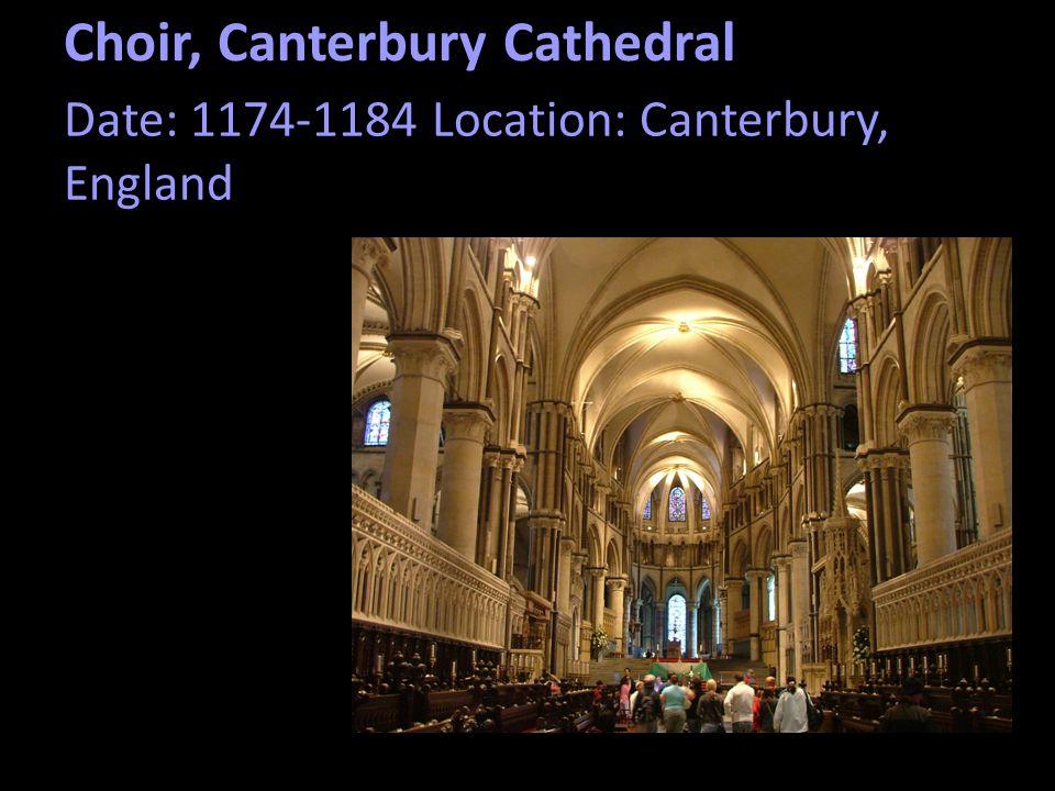 Choir, Canterbury Cathedral