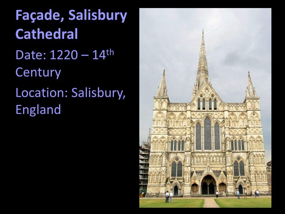 Façade, Salisbury Cathedral