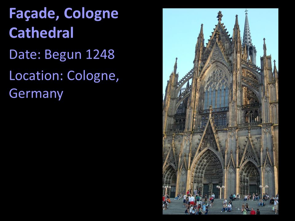 Façade, Cologne Cathedral