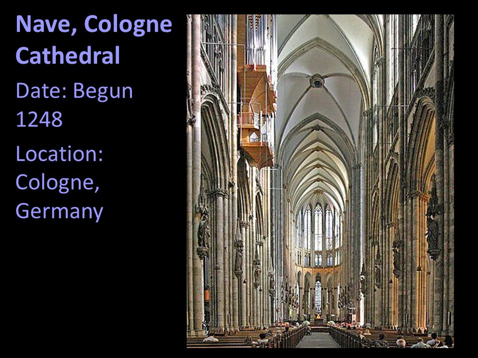 Nave, Cologne Cathedral