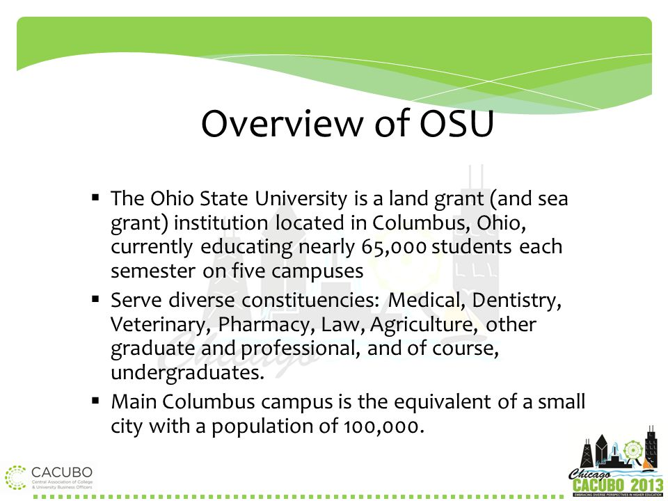 Overview of OSU