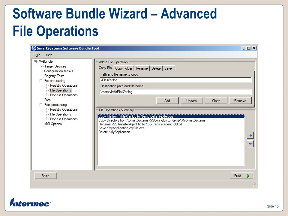 Software Bundle Wizard – Advanced File Operations