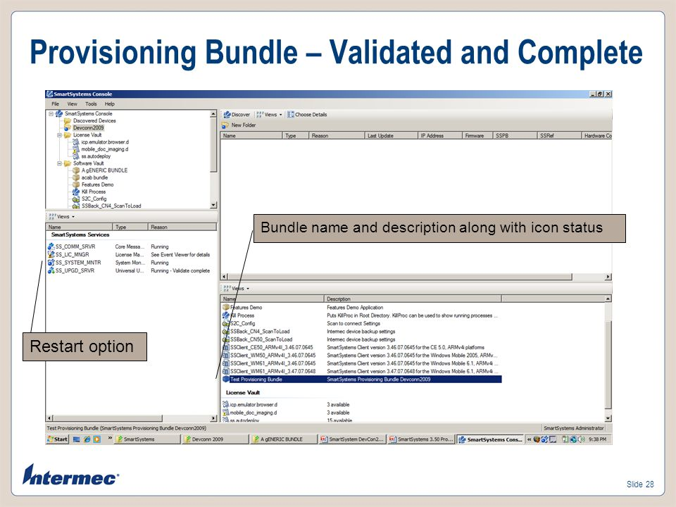 Provisioning Bundle – Validated and Complete