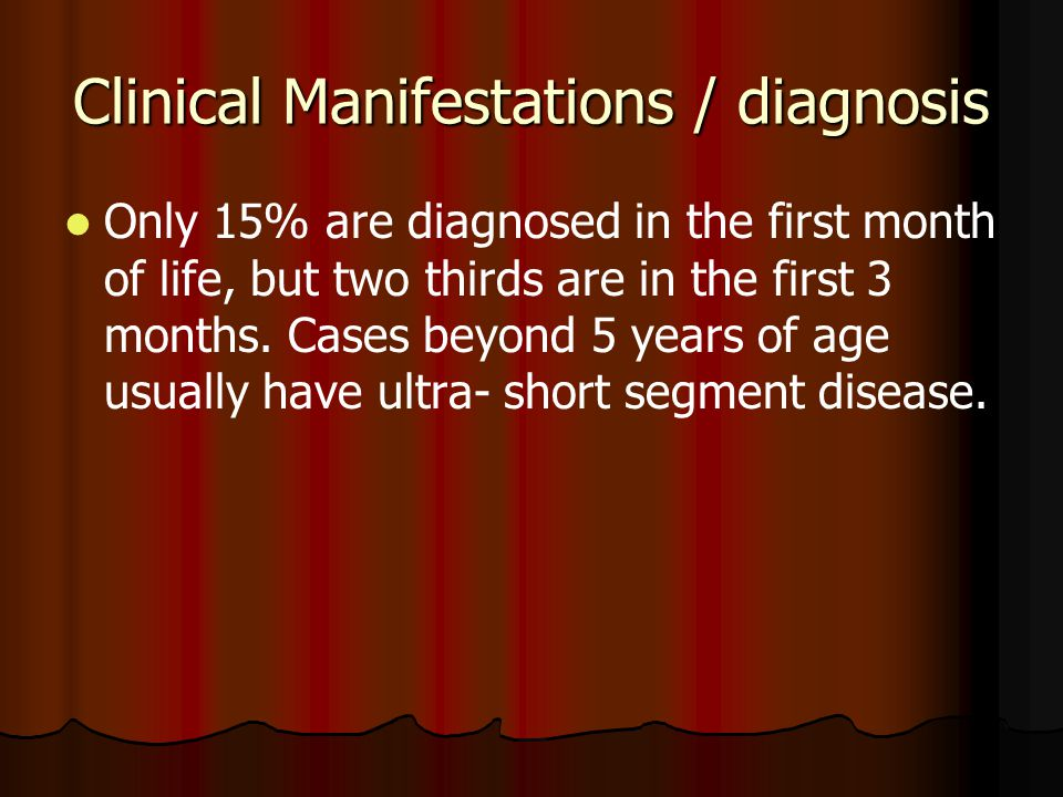 Clinical Manifestations / diagnosis