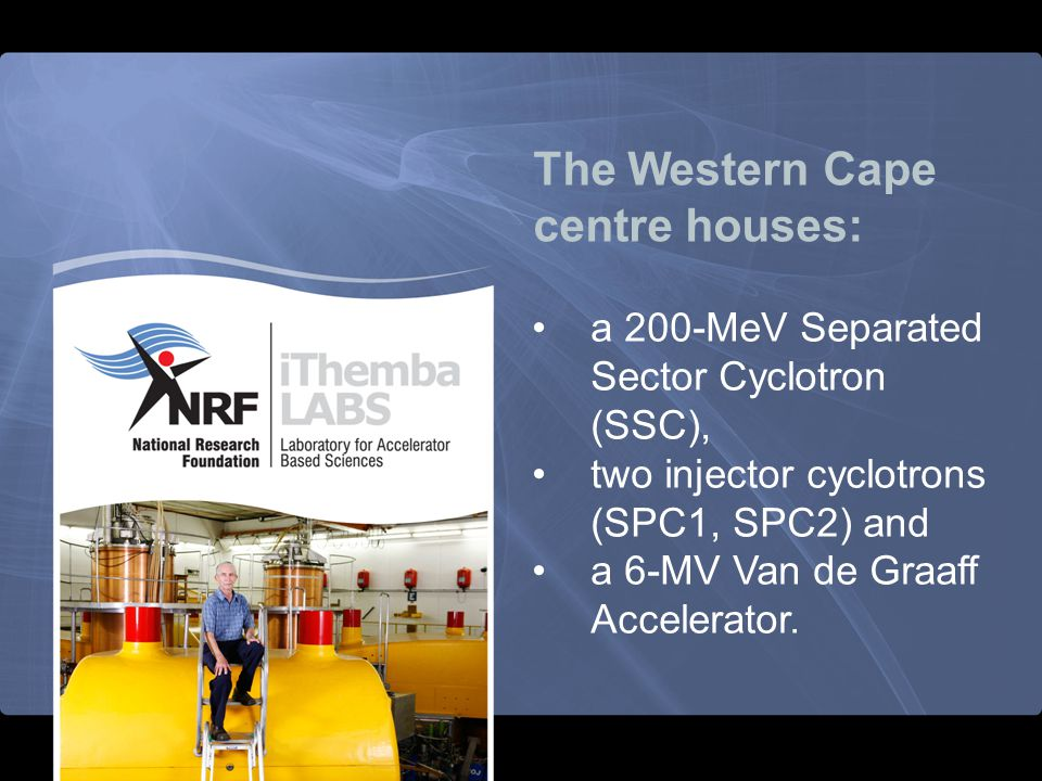 The Western Cape centre houses:
