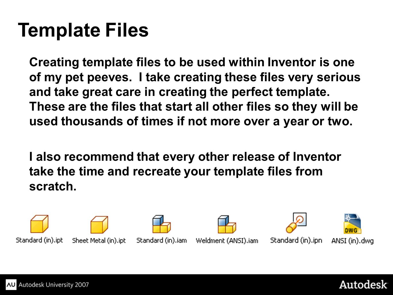 Template Files