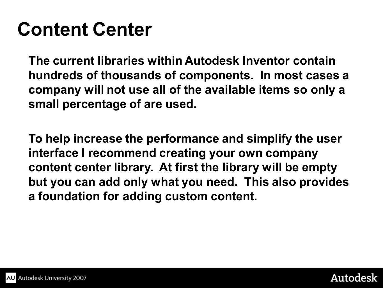 Content Center
