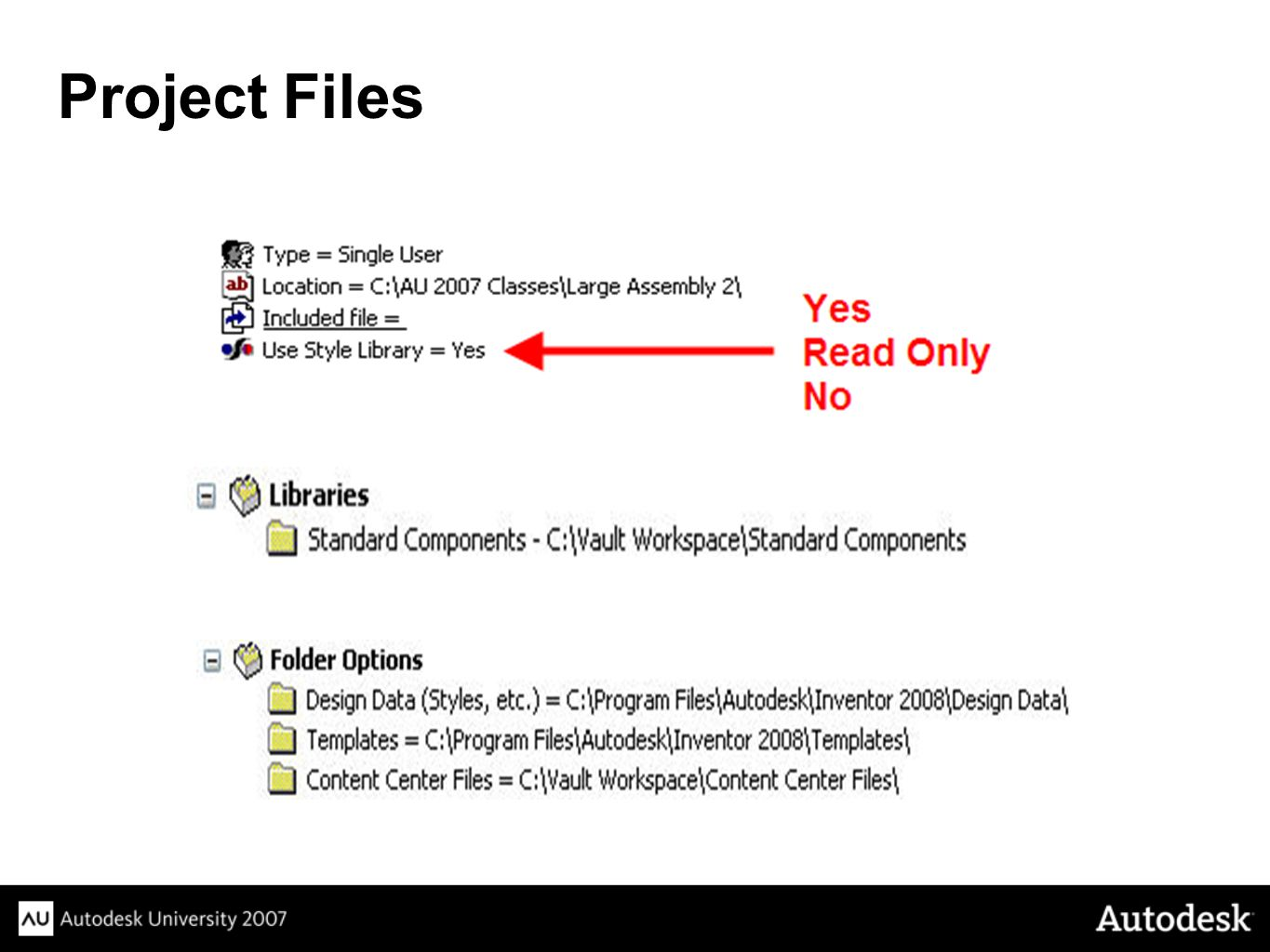 Project Files Instructions: