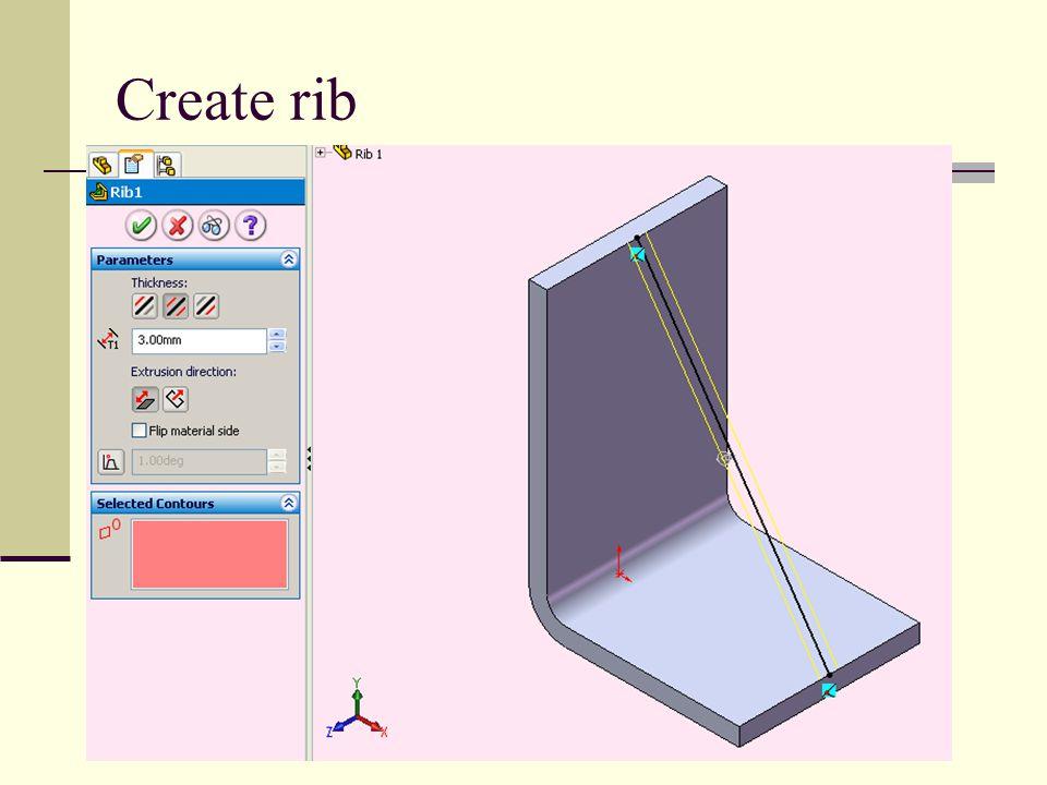 Create rib