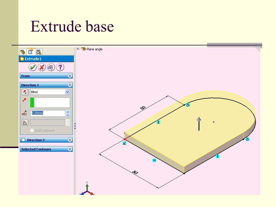 Extrude base