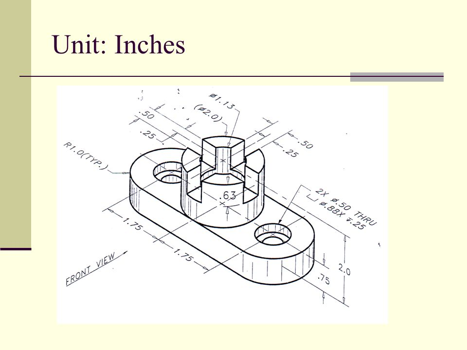 Unit: Inches