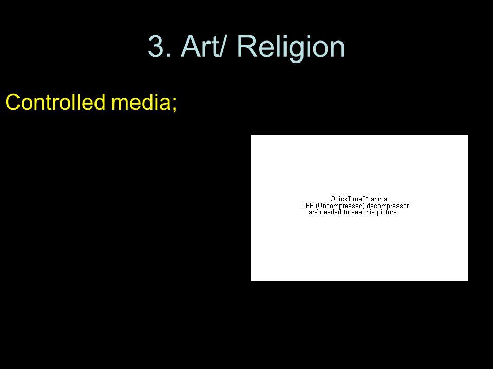 3. Art/ Religion