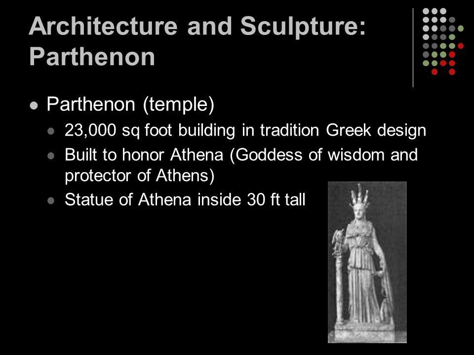 Architecture and Sculpture: Parthenon