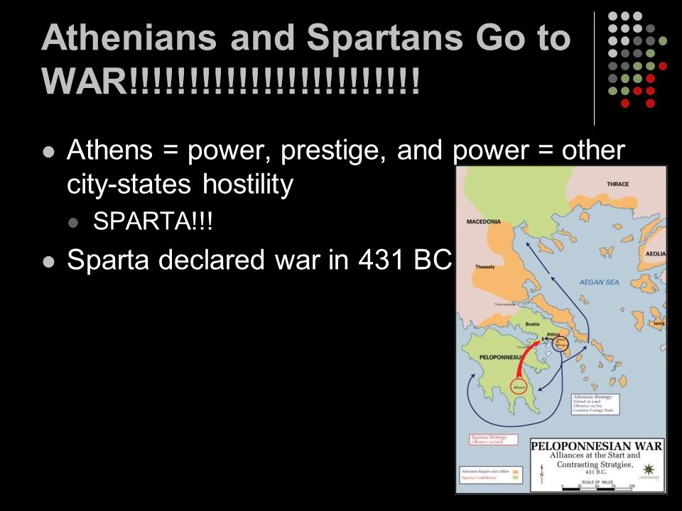 Athenians and Spartans Go to WAR!!!!!!!!!!!!!!!!!!!!!!!!