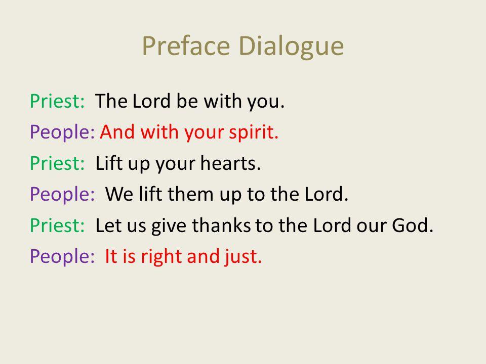 Preface Dialogue