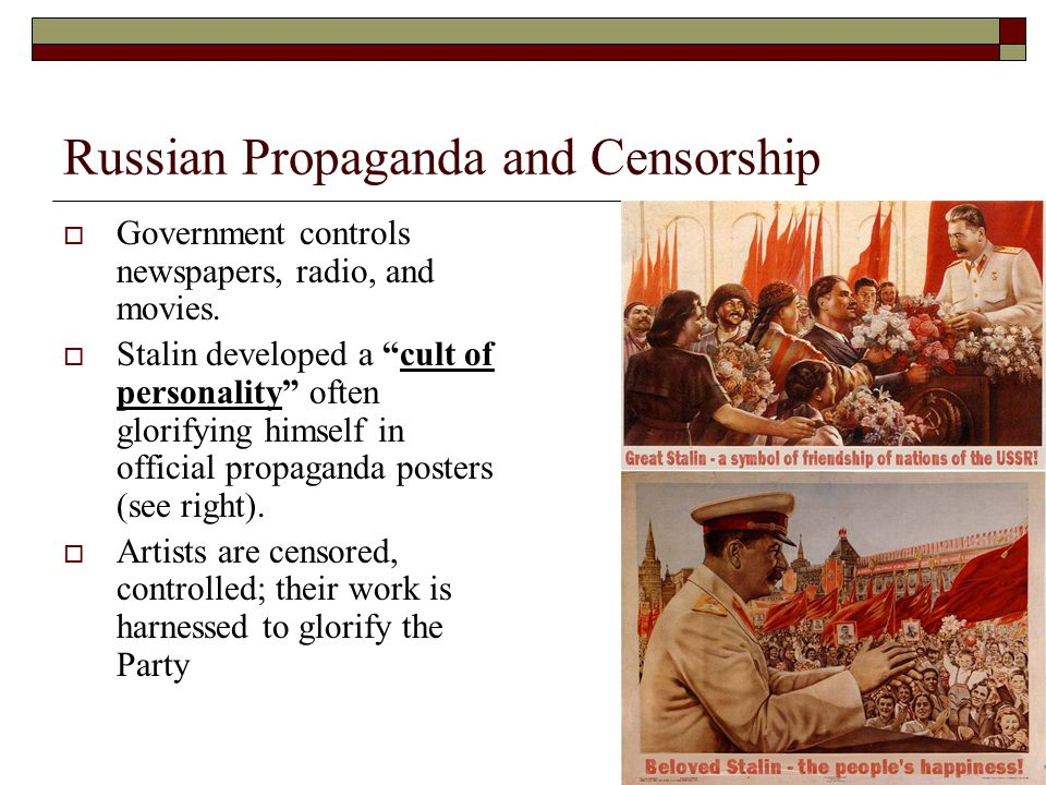 Russian Propaganda and Censorship