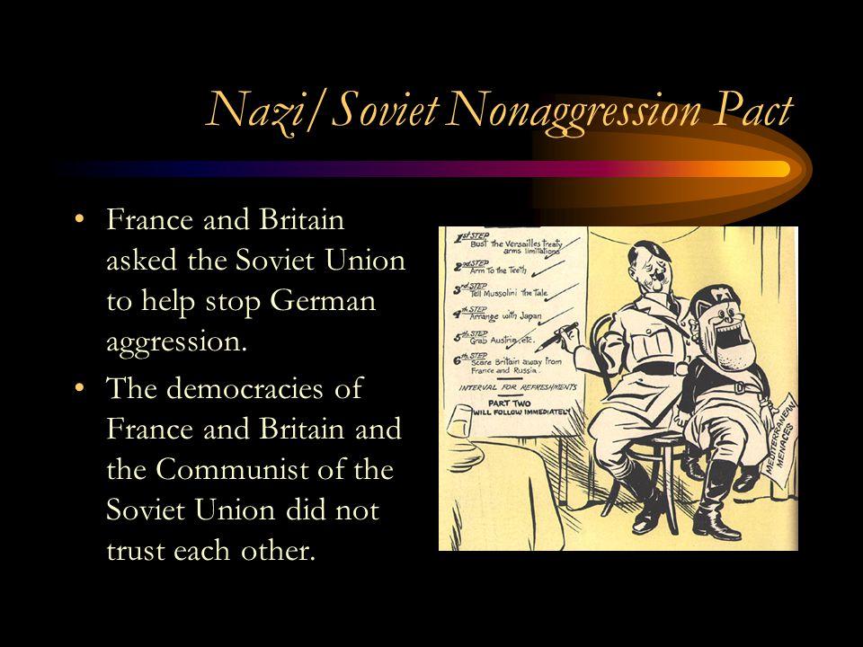 Nazi/Soviet Nonaggression Pact