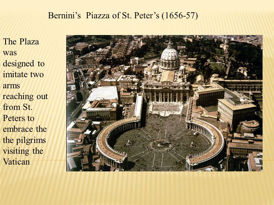 Bernini's Piazza of St. Peter's (1656-57)