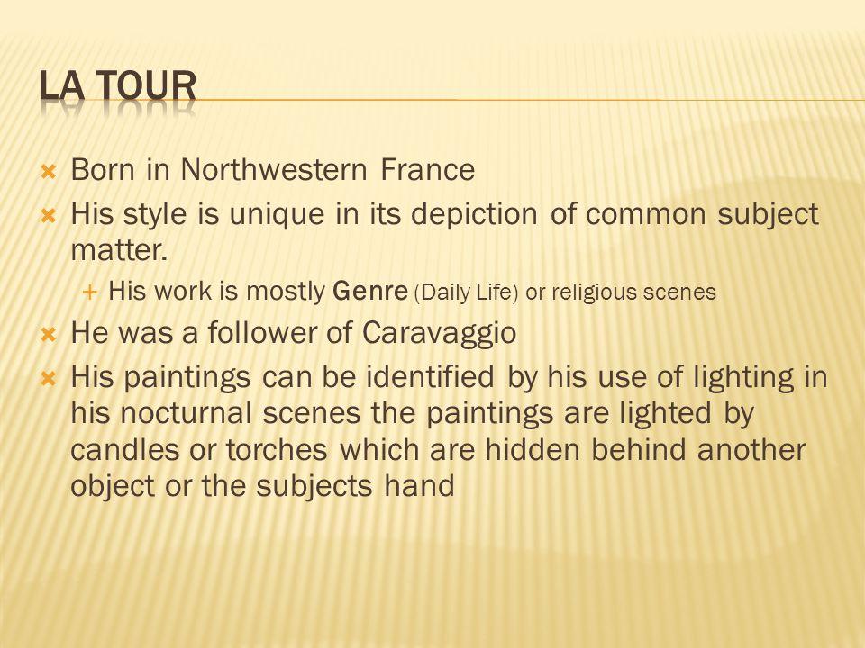 La Tour Born in Northwestern France