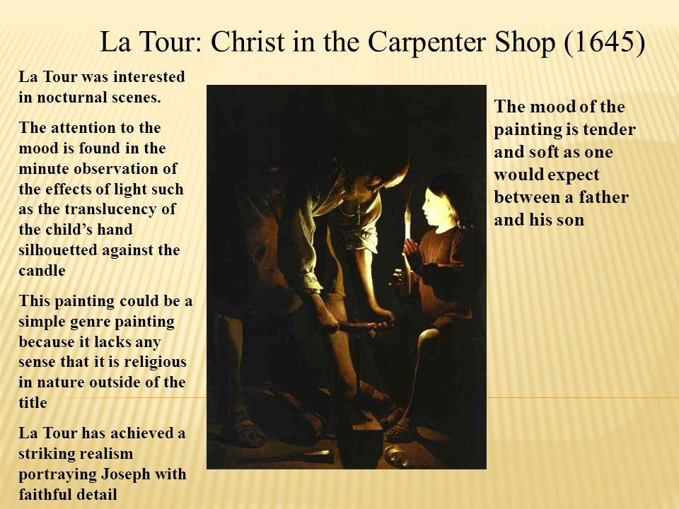La Tour: Christ in the Carpenter Shop (1645)