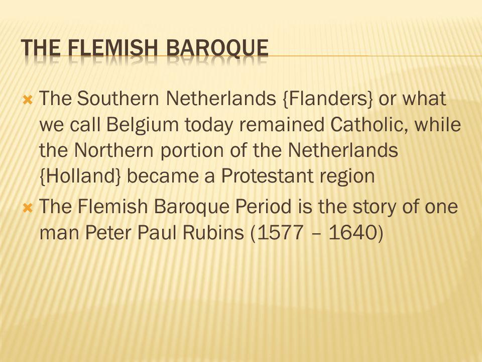 The Flemish Baroque