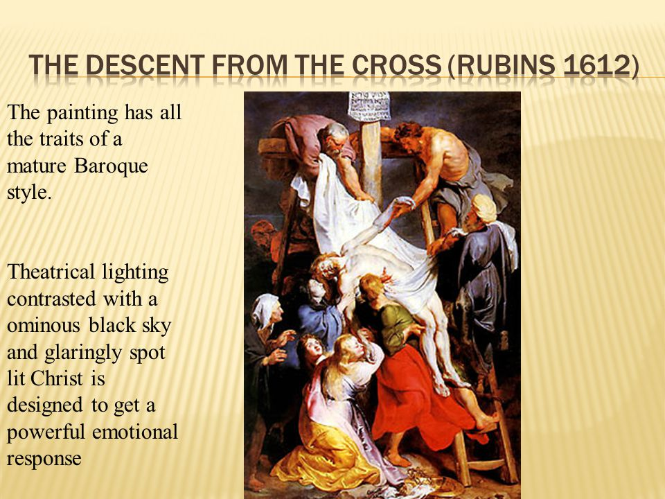 The Descent from the Cross (Rubins 1612)