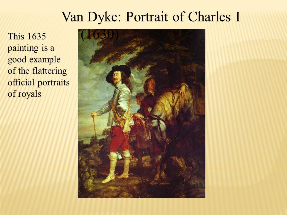 Van Dyke: Portrait of Charles I