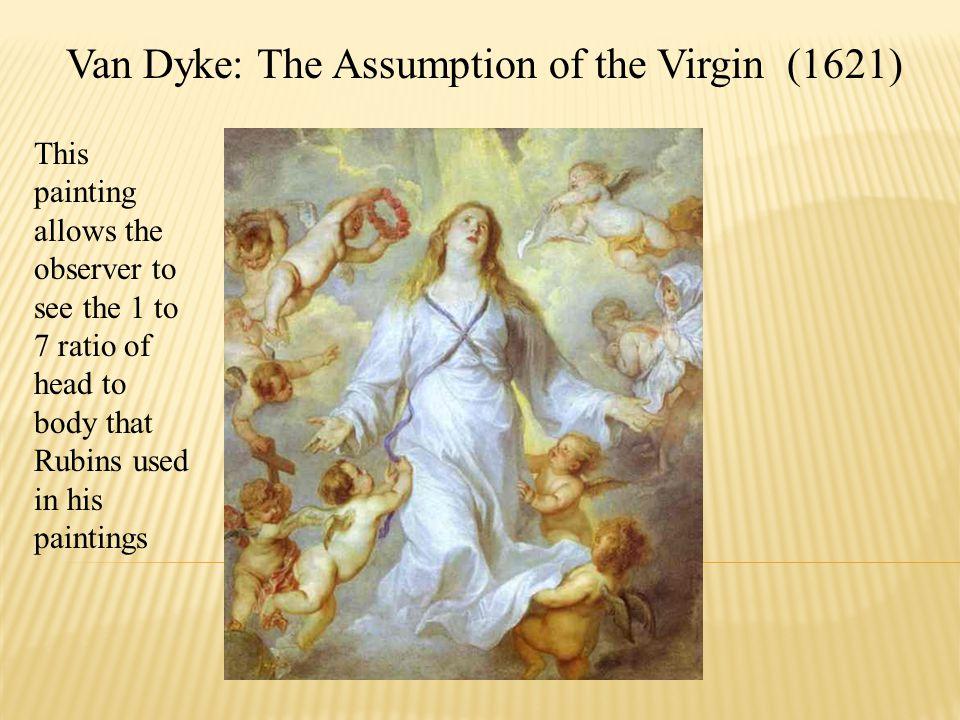 Van Dyke: The Assumption of the Virgin (1621)