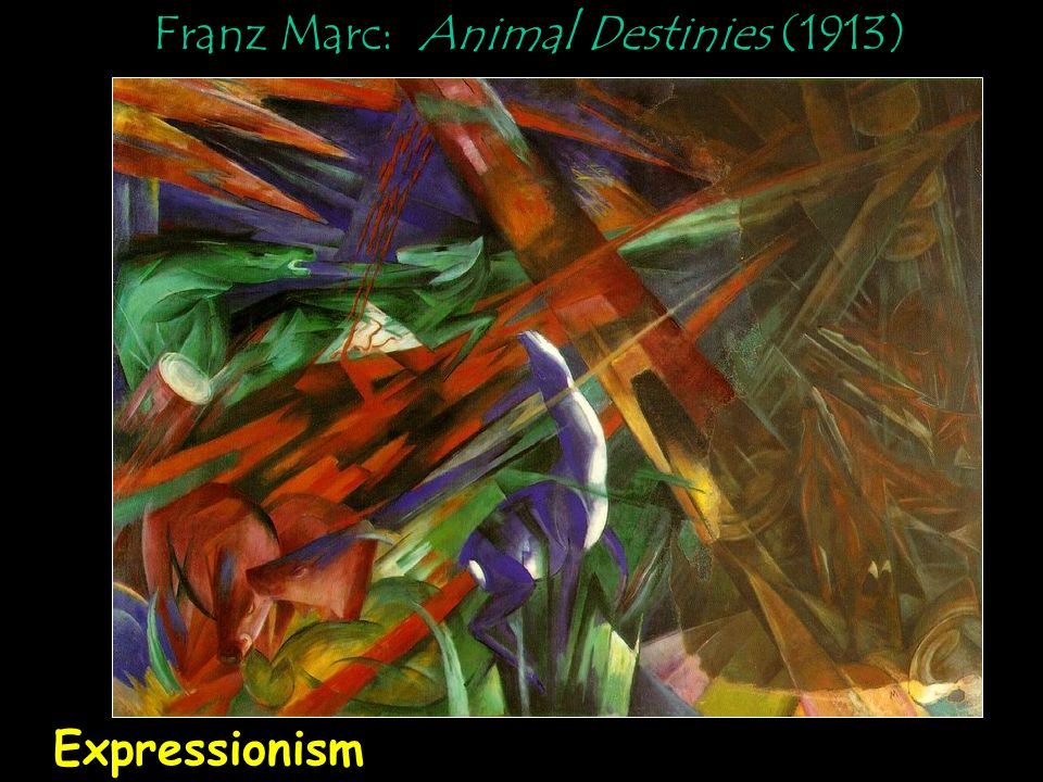 Franz Marc: Animal Destinies (1913)