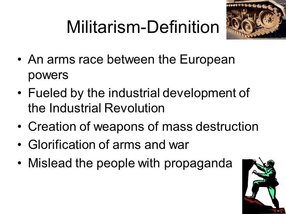Militarism-Definition