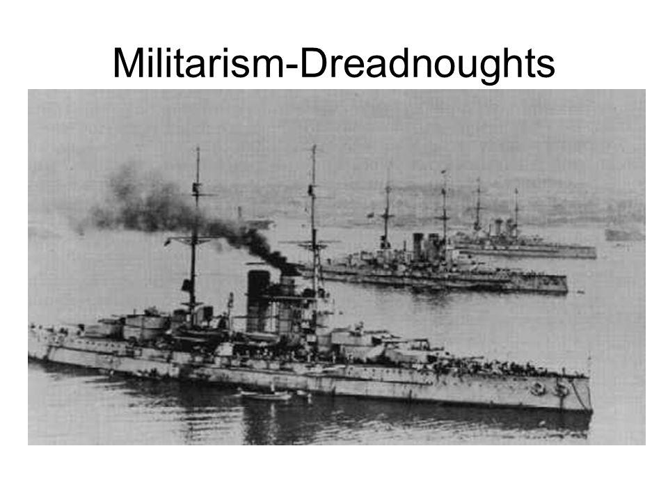 Militarism-Dreadnoughts