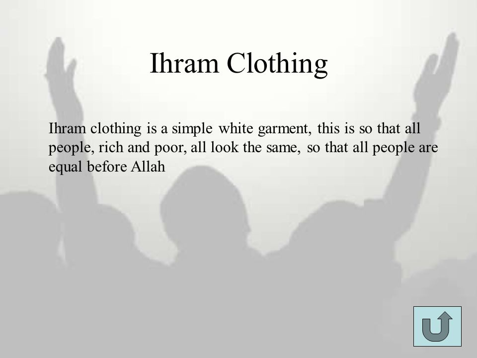 Ihram Clothing