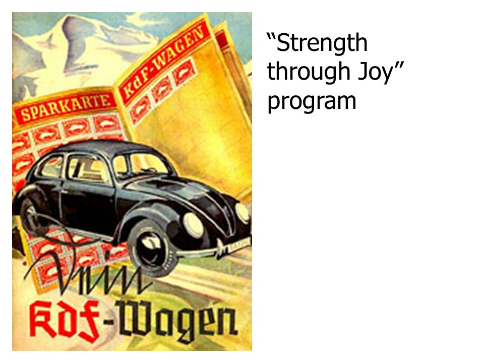 Strength through Joy program