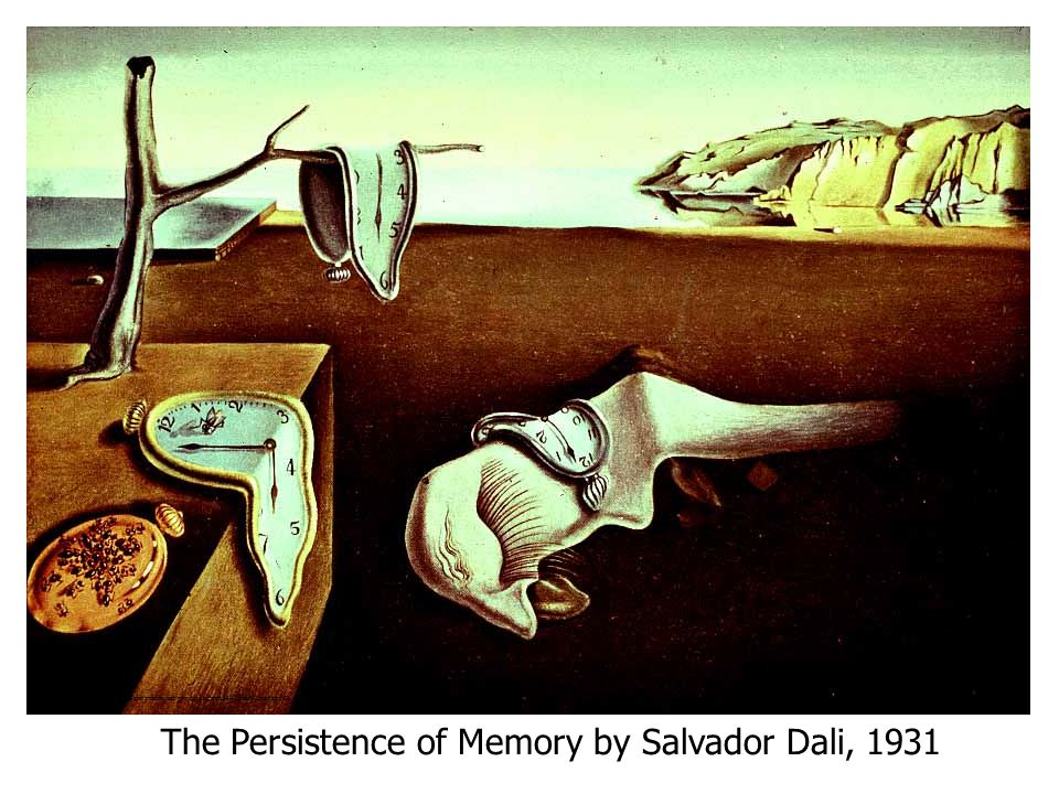 The Persistence of Memory by Salvador Dali, 1931
