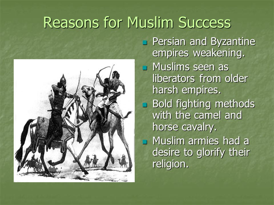 Reasons for Muslim Success