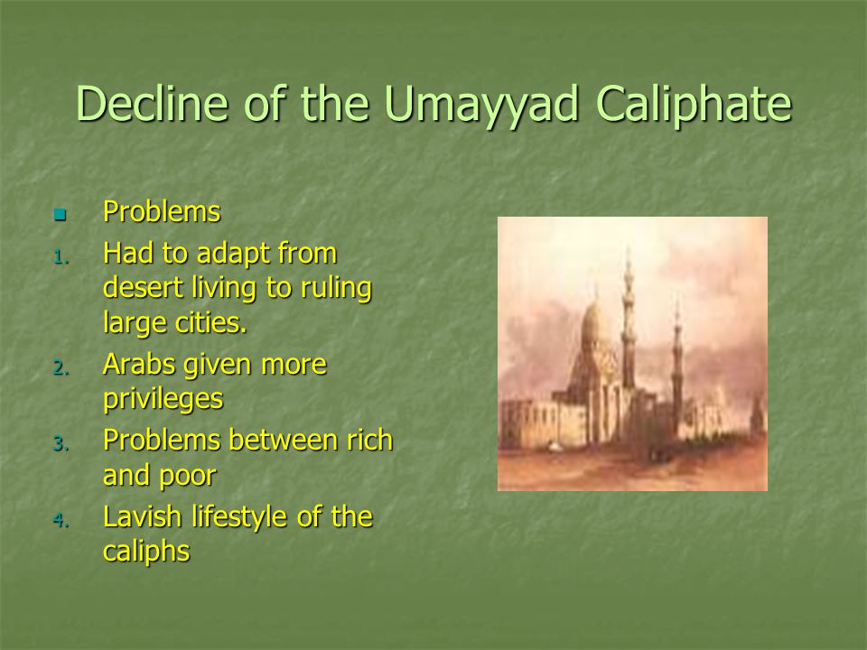 Decline of the Umayyad Caliphate
