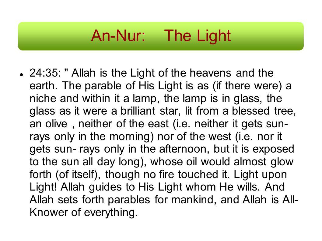 An-Nur: The Light