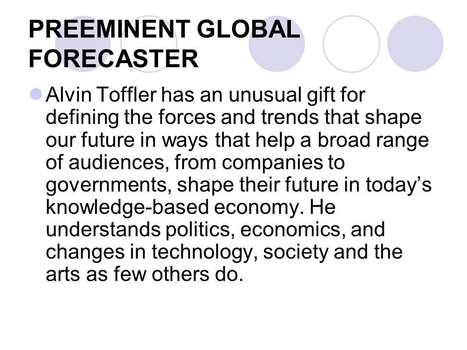 PREEMINENT GLOBAL FORECASTER