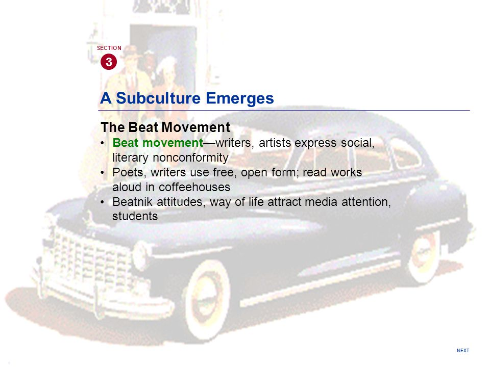 A Subculture Emerges The Beat Movement 3