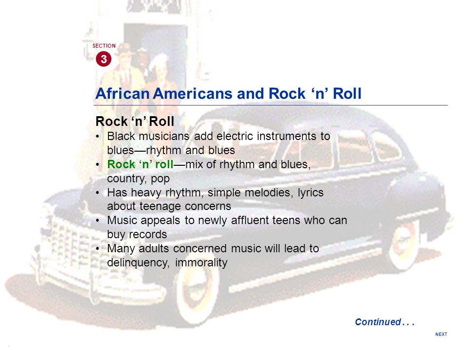 African Americans and Rock 'n' Roll