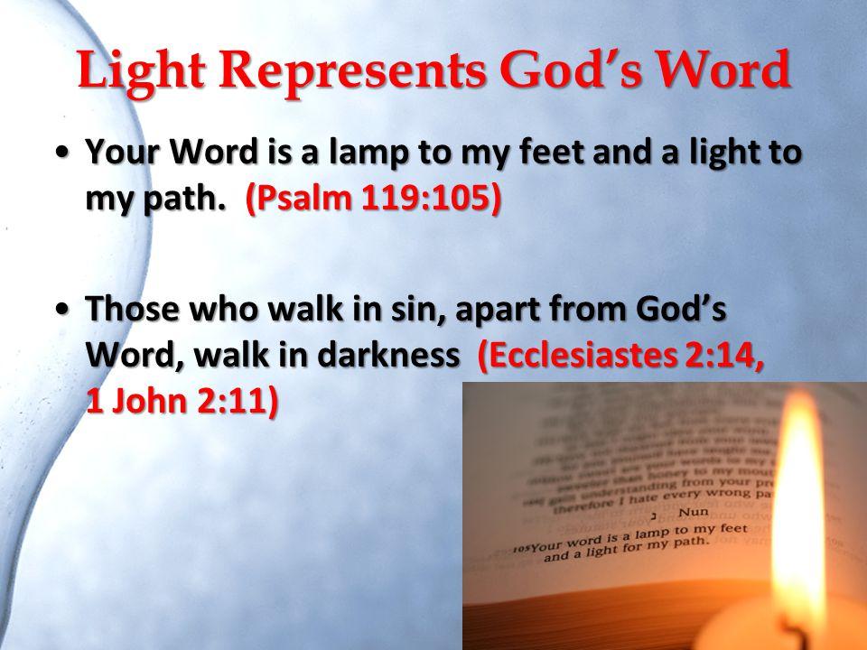 Light Represents God's Word