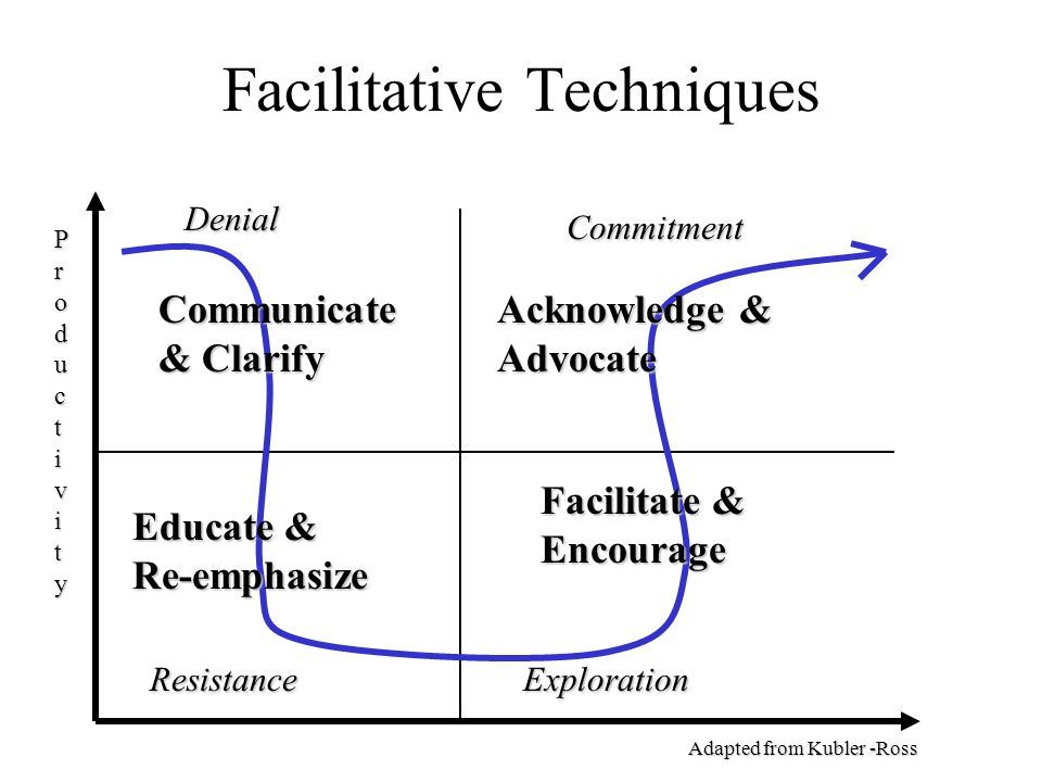 Facilitative Techniques