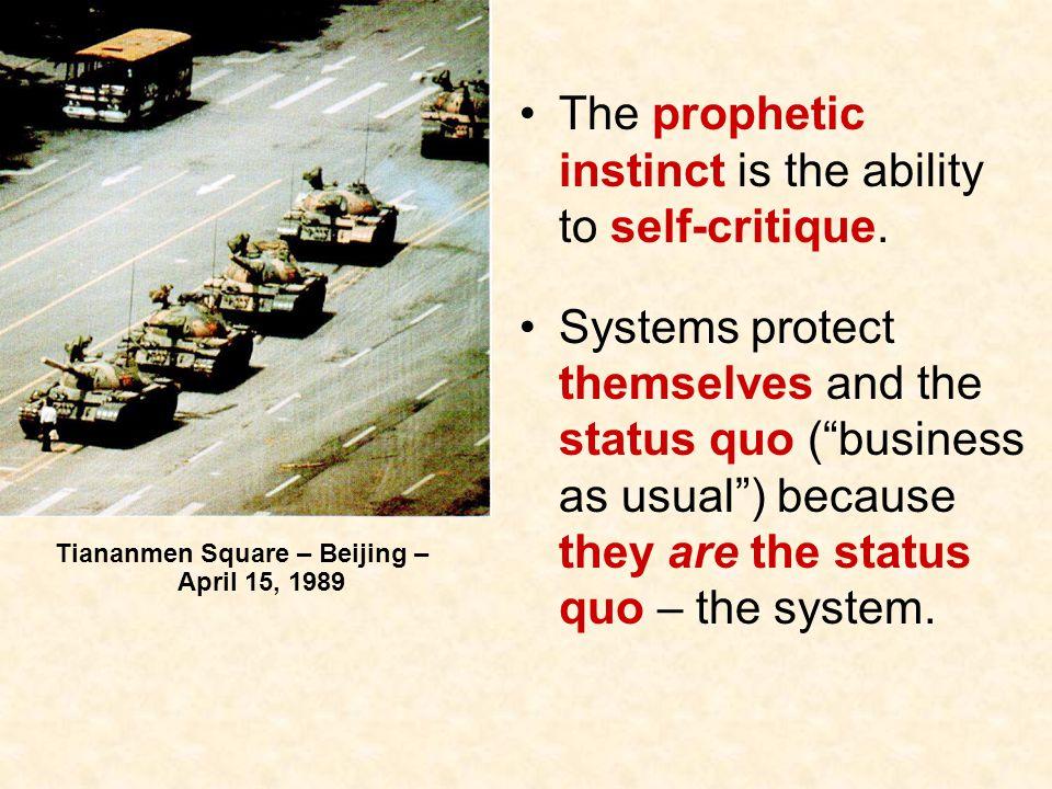 Tiananmen Square – Beijing – April 15, 1989