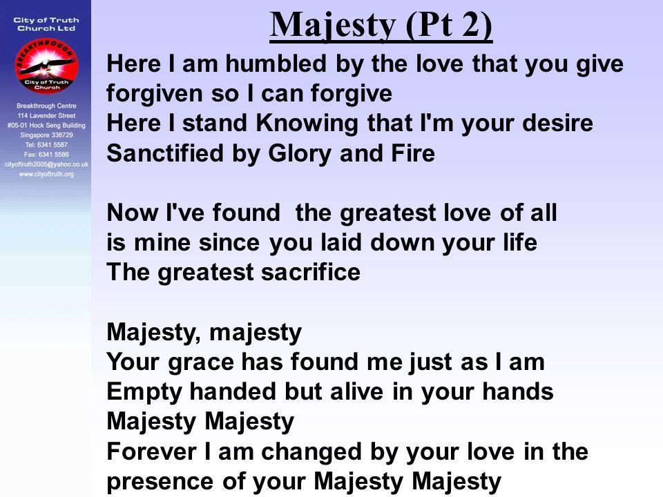 Majesty (Pt 2)
